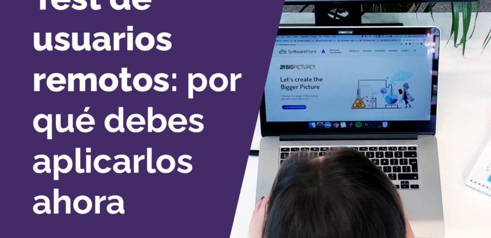 fotografía sobre tema usuario remoto, persona frente a un computador trabajando.
