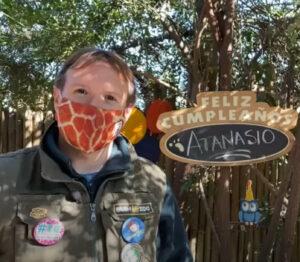 Gustavo Marwitz de Buin Zoo, responsbale de ocmunicaciones.